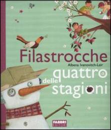 Filastrocche delle quattro stagioni - Albena Ivanovitch-Lair - copertina