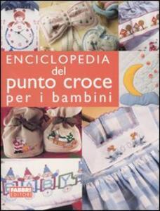 Enciclopedia del punto croce per i bambini - copertina