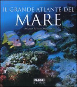 Foto Cover di Il grande atlante del mare, Libro di Angelo Mojetta, edito da Fabbri