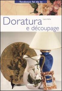 Doratura e découpage - Lara Vella - copertina