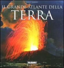 Il grande atlante della terra - Marco Majrani - copertina