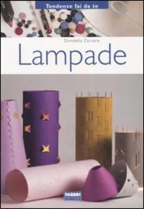 Lampade - Donatella Zaccaria - copertina
