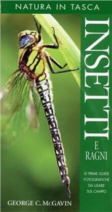 Insetti e ragni - George C. McGavin - copertina