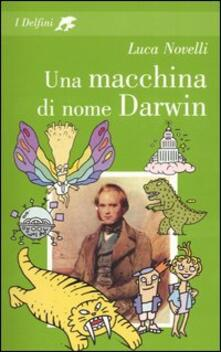 Una macchina di nome Darwin - Luca Novelli - copertina