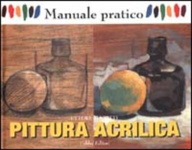 Pittura acrilica - Ettore Maiotti - copertina