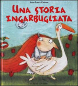 Una storia ingarbugliata - Anna Laura Cantone - copertina