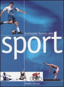 Enciclopedia illustrata dello sport - copertina