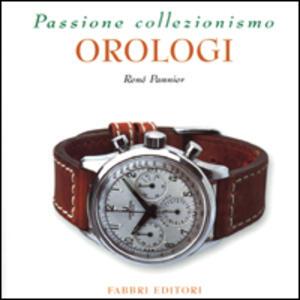 Orologi - René Pannier - copertina