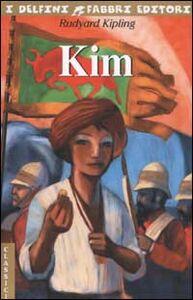 Foto Cover di Kim, Libro di Rudyard Kipling, edito da Fabbri