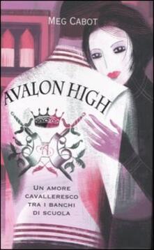 Avalon high - Meg Cabot - copertina