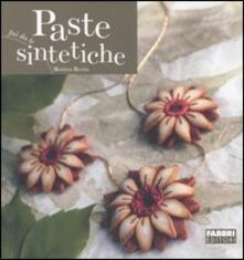 Paste sintetiche - Monica Resta - copertina
