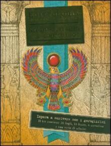 Egittologia. Kit di scittura per egittologi - Emily Sands - copertina