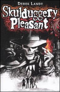 Skulduggery Pleasant - Derek Landy - copertina