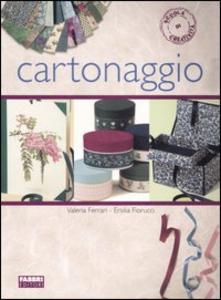Libro Cartonaggio Valeria Ferrari , Ersilia Fiorucci