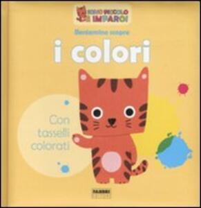 Beniamino scopre i colori - Marion Billet - copertina