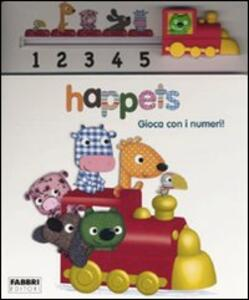 Gioca con i numeri! Happets - Laurence Jammes,Marc Clamens - copertina