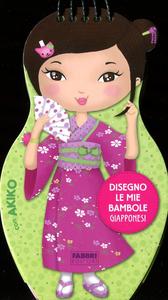 Libro Disegno le mie bambole giapponesi con Akiko. Con adesivi