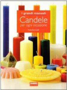 Candele per ogni occasione - Paola Romanelli - copertina