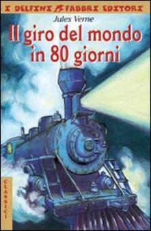 Il giro del mondo in 80 giorni - Jules Verne - copertina
