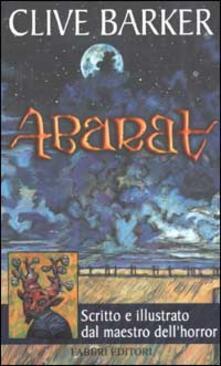 Abarat - Clive Barker - copertina