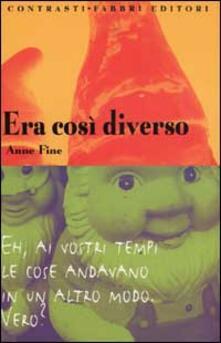 Era così diverso - Anne Fine - copertina