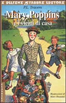 Mary Poppins e i vicini di casa - P. L. Travers - copertina