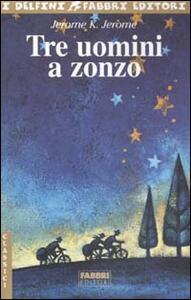 Tre uomini a zonzo - Jerome K. Jerome - copertina