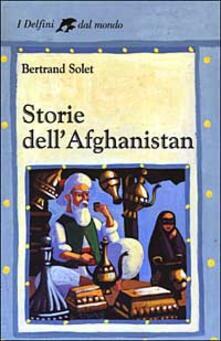 Storie dell'Afghanistan - Bertrand Solet - copertina