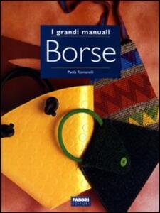 Borse - Paola Romanelli - copertina