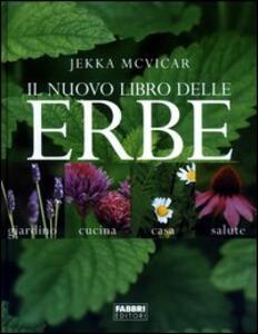 Il nuovo libro delle erbe - Jekka McVicar - copertina