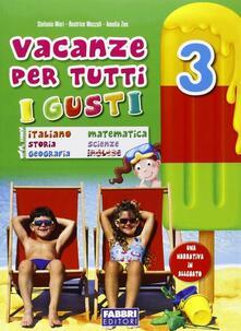 Listadelpopolo.it Vacanze per tutti i gusti. Per la Scuola elementare. Vol. 3 Image