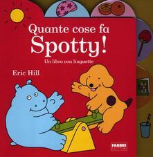 Quante cose fa Spotty! - Eric Hill - copertina