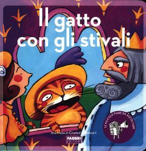 Il gatto con gli stivali. Ediz. illustrata. Con CD Audio - Paola Parazzoli,Maria Sole Macchia - copertina