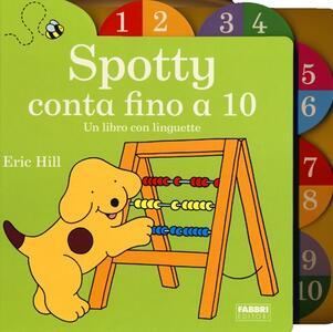 Spotty conta fino a 10 - Eric Hill - copertina