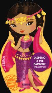 Foto Cover di Disegno le mie bambole mediorientali con Zeina. Con adesivi, Libro di  edito da Fabbri