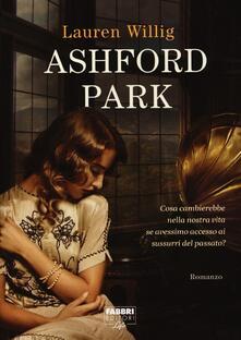 Ashford Park - Lauren Willig - copertina