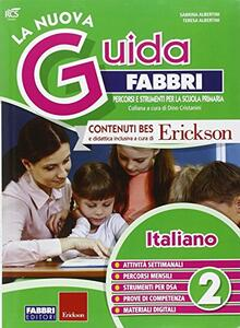 La nuova guida Fabbri. Italiano. Guida per l'insegnante della 2ª classe elementare - copertina