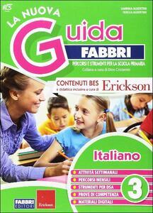 La nuova guida Fabbri. Italiano. Guida per l'insegnante della 3ª classe elementare - copertina