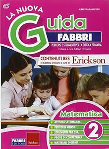 La nuova guida Fabbri. Matematica. Guida per l'insegnante della 2ª classe elementare - copertina