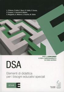 DSA. Elementi di didattica per i bisogni educativi speciali - copertina