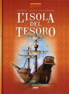 L' isola del tesoro - Robert Louis Stevenson,Ronne Randall - copertina