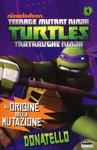Donatello. Turtles Tartarughe Ninja - copertina