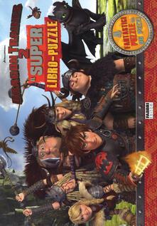 Lpgcsostenible.es Dragon Trainer 2. Il super libro-puzzle Image