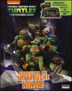 Libro Addestra le tartarughe Ninjia! Turtles Tartarughe Ninja. Con gadget
