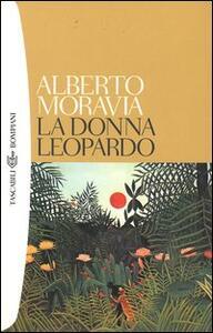 La donna leopardo - Alberto Moravia - copertina