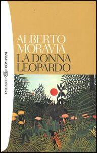 Libro La donna leopardo Alberto Moravia
