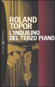 L' inquilino del terzo piano - Roland Topor - copertina