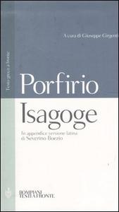 Libro Isagoge. Testo greco a fronte Porfirio