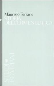 Storia dell'ermeneutica - Maurizio Ferraris - copertina