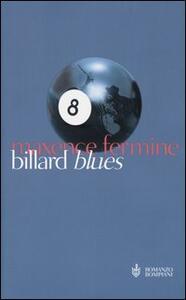 Billard Blues - Maxence Fermine - copertina